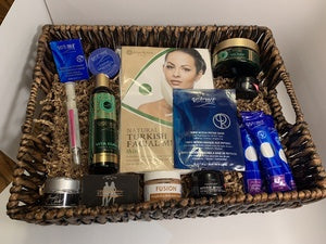 "You can now bid on our ""Perfect Skin"" Gift Basket  going on now at the McCallie Online Auction"