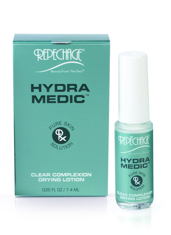 HYDRA MEDIC® CLEAR COMPLEXION DRYING LOTION (The zit zapper - ACNE) 0.25oz - e1body & soul (beauty) (hair) (skincare) (haircare) (essential oils)  [natural beauty products] Shop 24/7 [Bath & Body Care]  Diffusers,