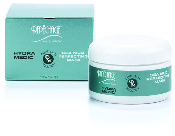 HYDRA MEDIC® SEA MUD PERFECTING MASK (Acne / Oily Skin) - (4oz) - e1body & soul (beauty) (hair) (skincare) (haircare) (essential oils)  [natural beauty products] Shop 24/7 [Bath & Body Care]  Diffusers,