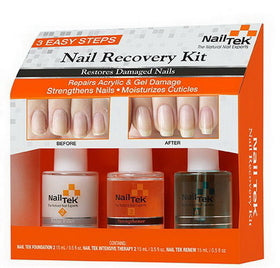 Nail Tek Trio Set - e1body & soul (beauty) (hair) (skincare) (haircare) (essential oils)  [natural beauty products] Shop 24/7 [Bath & Body Care]  Diffusers,