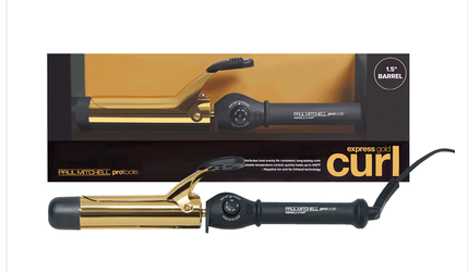 John Paul Mitchell Gold Curling Iron 1.5 Inch Spring Barrel - e1body & soul (beauty) (hair) (skincare) (haircare) (essential oils)  [natural beauty products] Shop 24/7 [Bath & Body Care]  Diffusers,