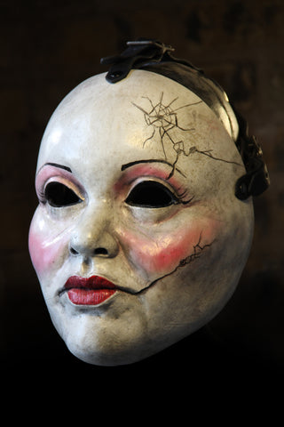IN STOCK Cracked Doll Fiberglass Faceplate