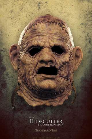 "IN STOCK - The Hidecutter Silicone Mask ""Graveyard Tan"""