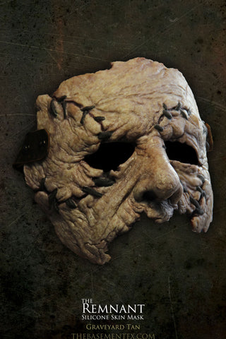 IN STOCK - The Remnant Silicone Mask - Graveyard Tan