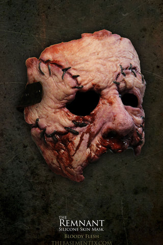 IN STOCK - The Remnant Silicone Mask - Bloody Flesh