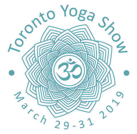 Mandala Logo with Lotus and Ohm symbol for the Toronto Yoga Show 2019 - terrabryn blog