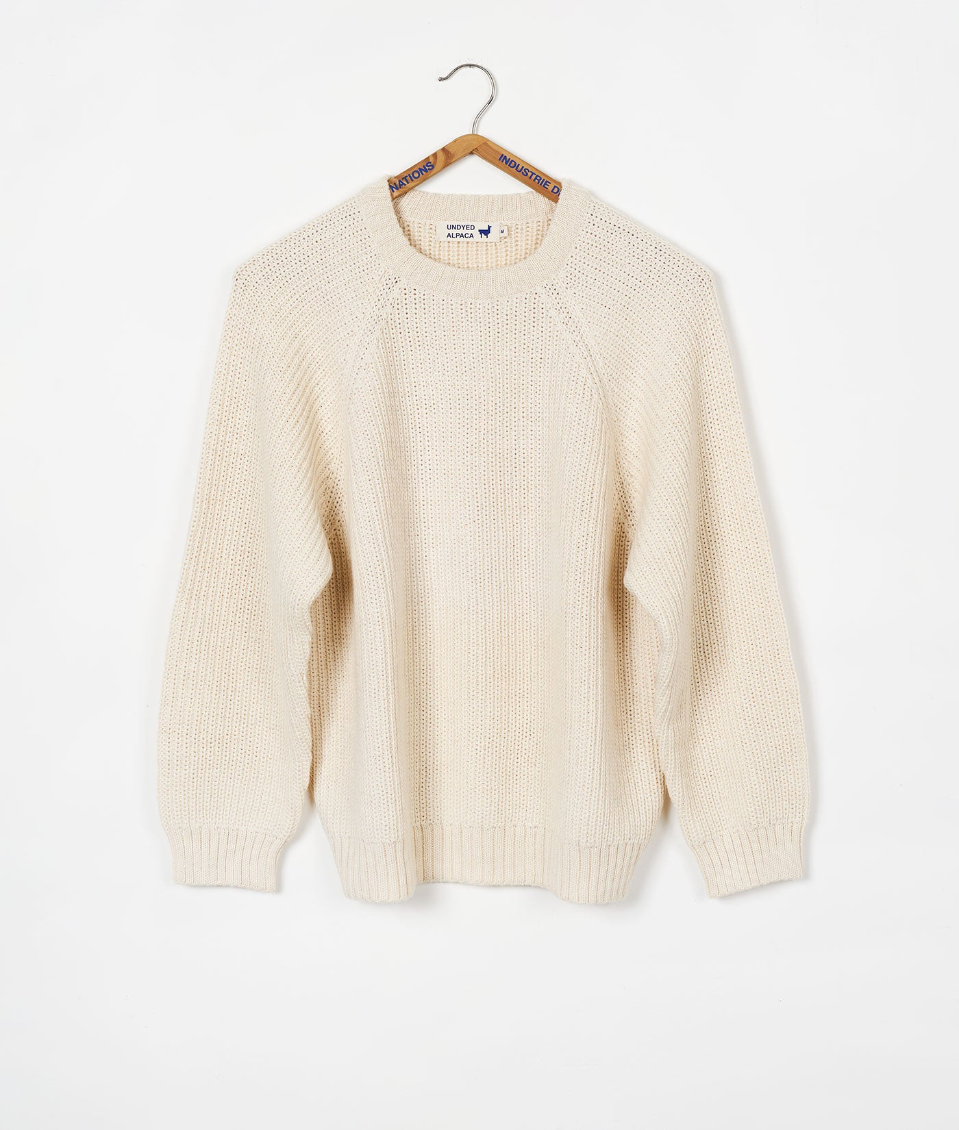 Alpaca Fisherman Sweater