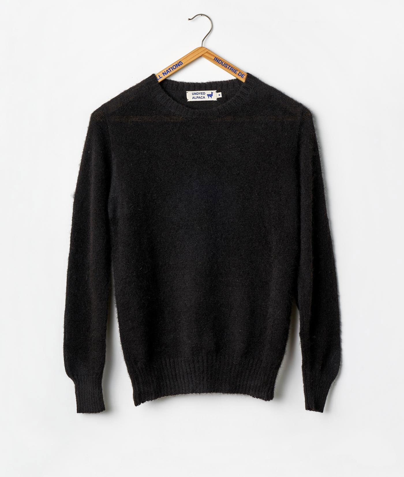 Alpaca Crewneck Sweater