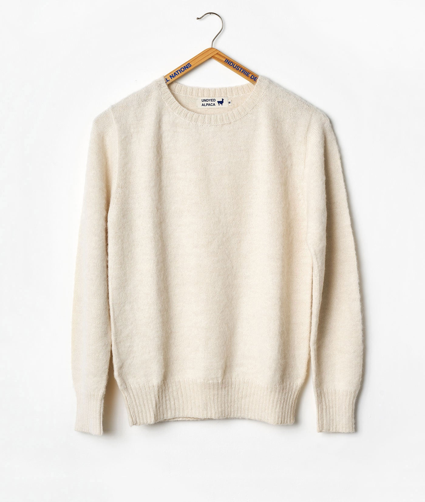 Industry of All Nations Alpaca Wool Crewneck Sweater