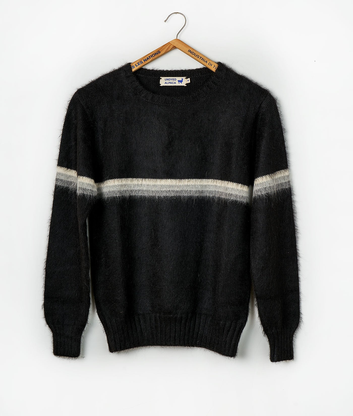Industry of All Nations Striped Wool Sweater
