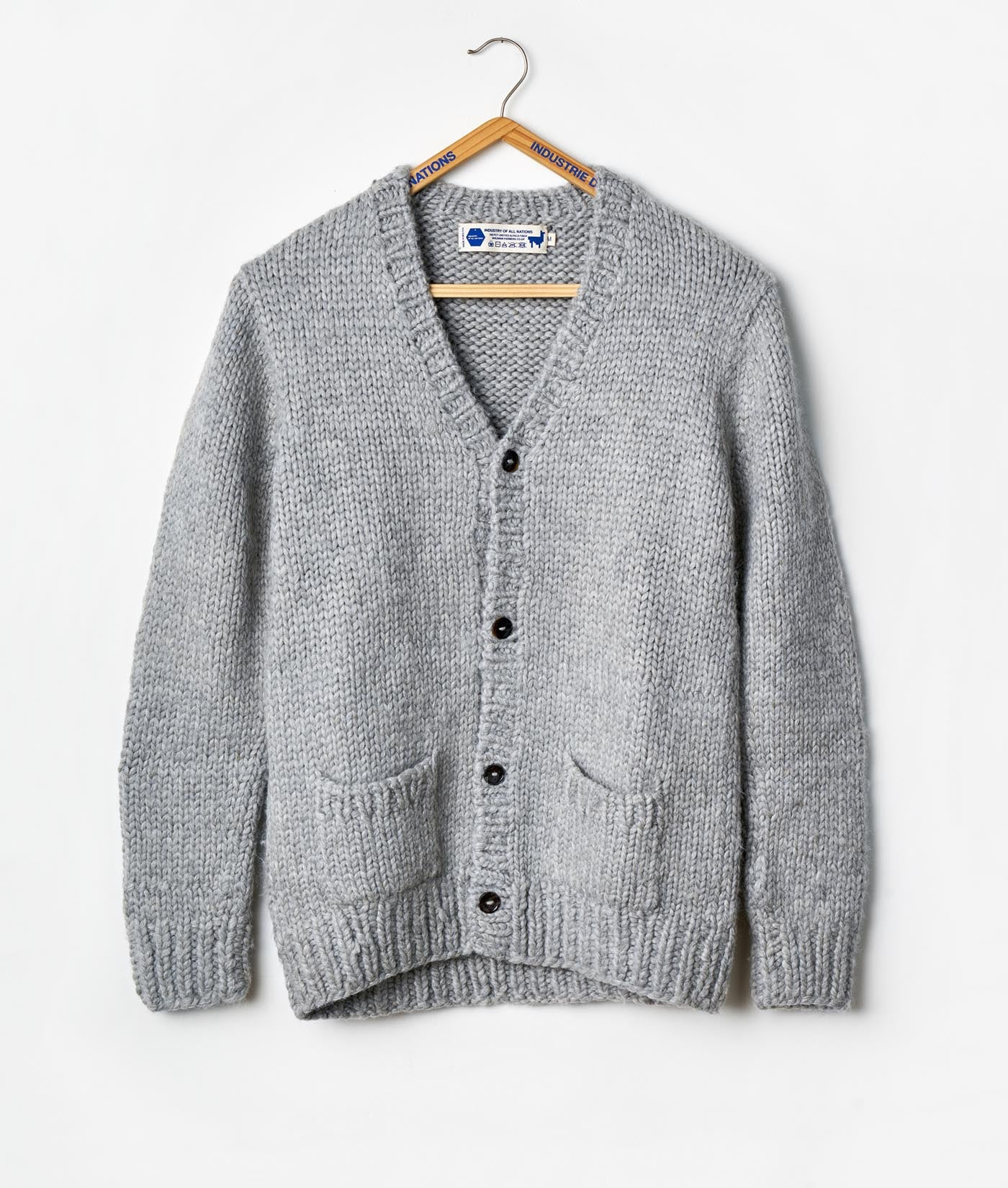 5def9d290 Alpaca Hand-Knit Topo Cardigan – Industry of All Nations