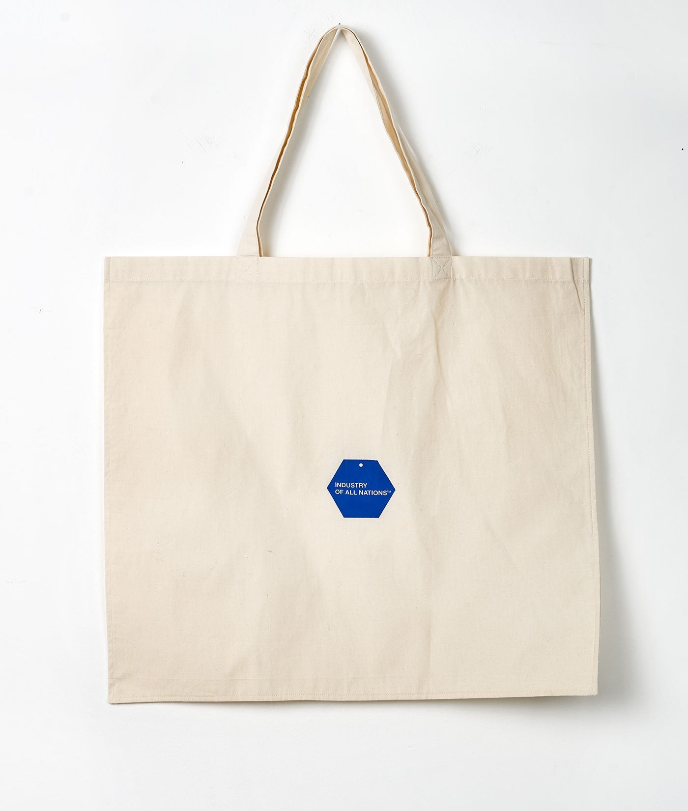 Industry of All Nations Sustainable Organic Cotton Tote Bag Large