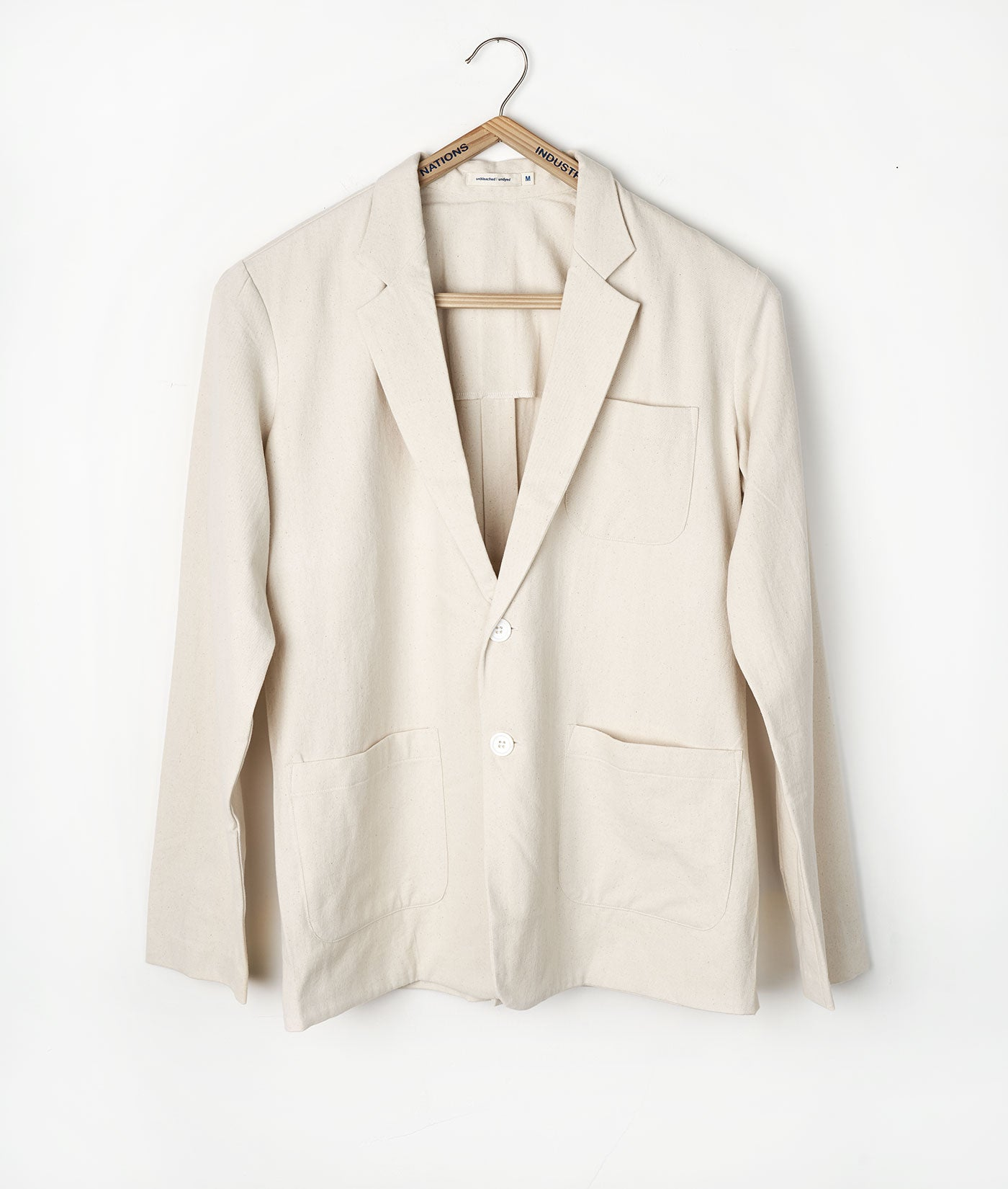 Industry of All Nations Organic Cotton Twill Blazer