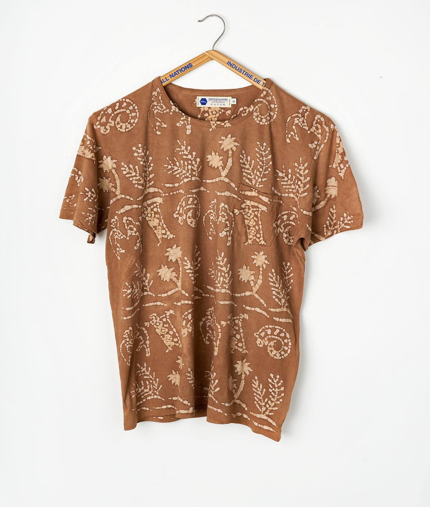 Industry of All Nations Batik African Print T-Shirt