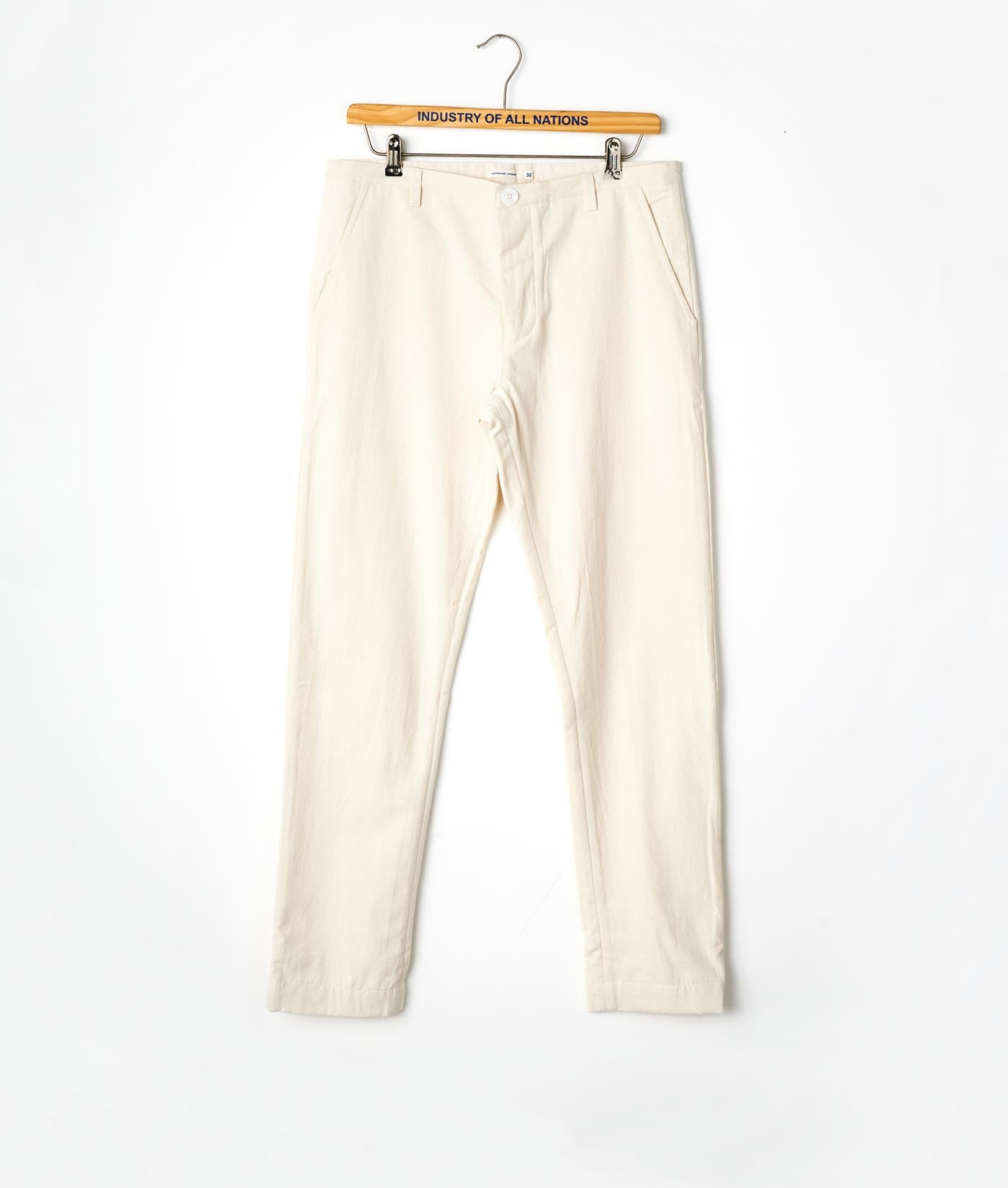 Industry of All Nations Organic Cotton Chino Pants Natural