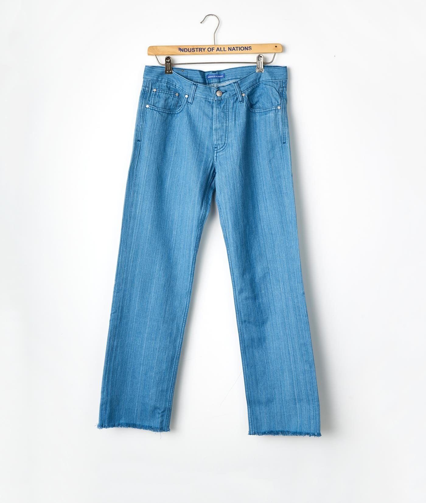 Industry of All Nations Organic Cotton Jeans Indigo 6