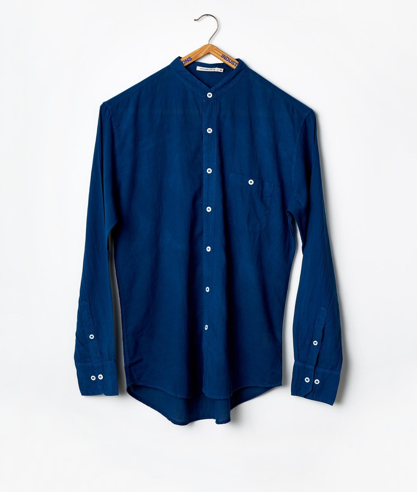 Mao Madras Shirt - Long Sleeve