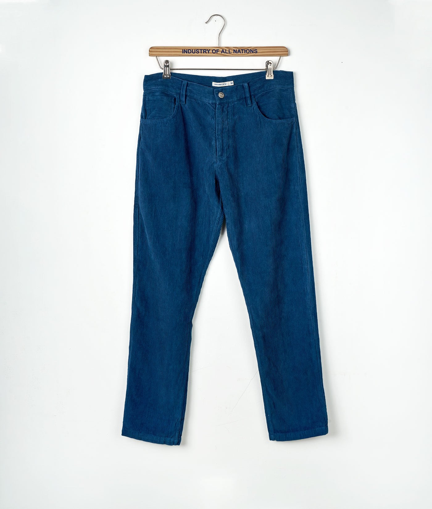 Industry of All Wide Wale Sustainable Corduroy Pants Indigo 6