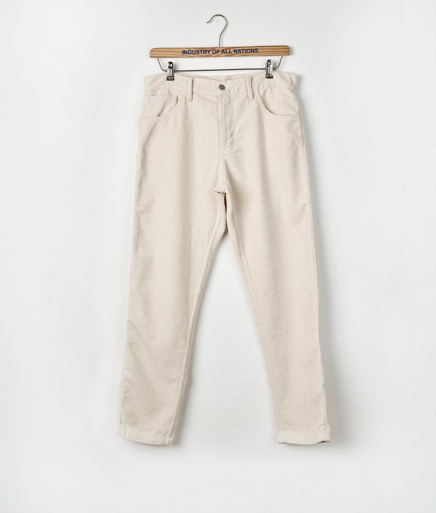 Industry of All Wide Wale Sustainable Corduroy Pants Undyed