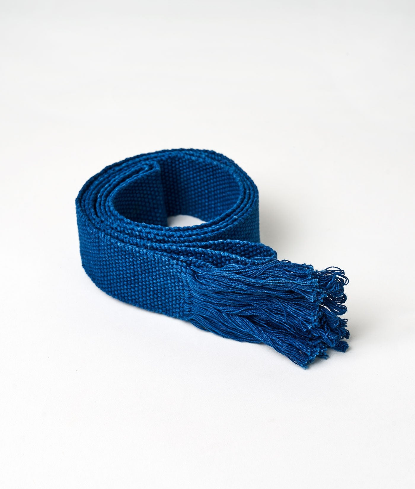 Industry of All Nations Faja Sustainable Woven Belt Indigo