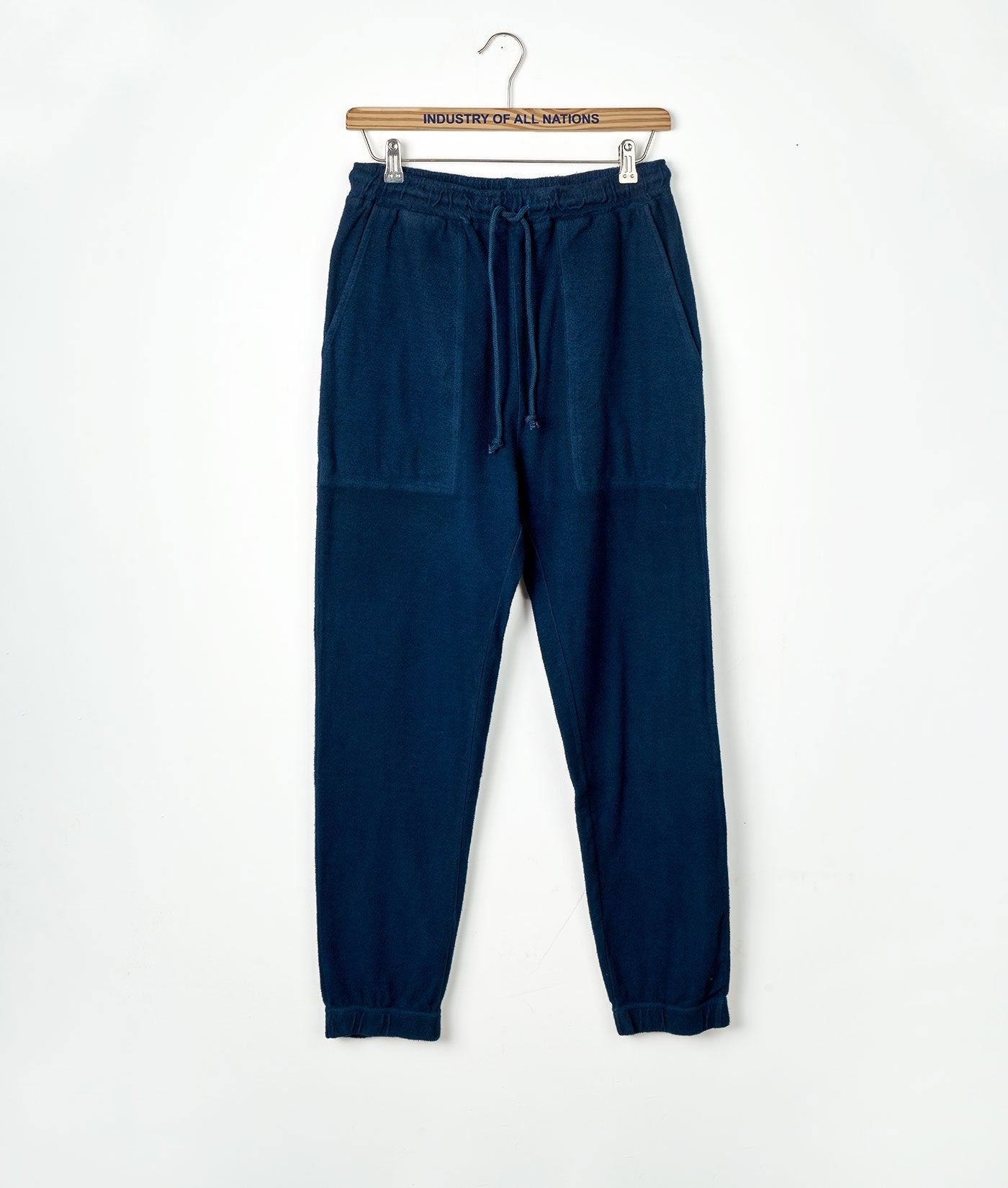 Industry of All Nations Organic Cotton Fleece SweatpantsIndustry of All Nations Organic Cotton Fleece Sweatpants Indigo 12