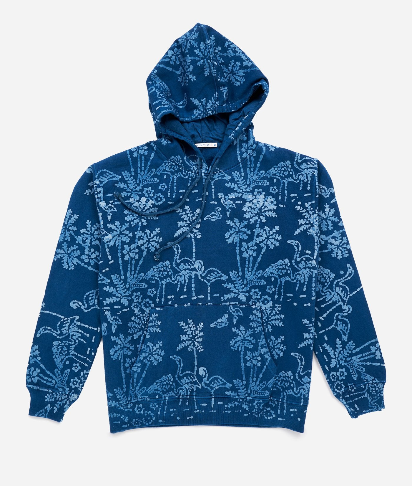 Industry of All Nations Batik Print Flamingo Hoodie