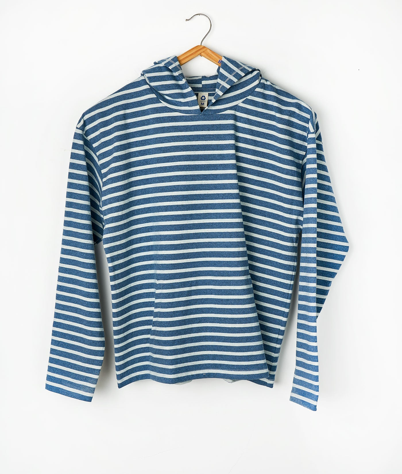 New Striped Pullover Hoodie