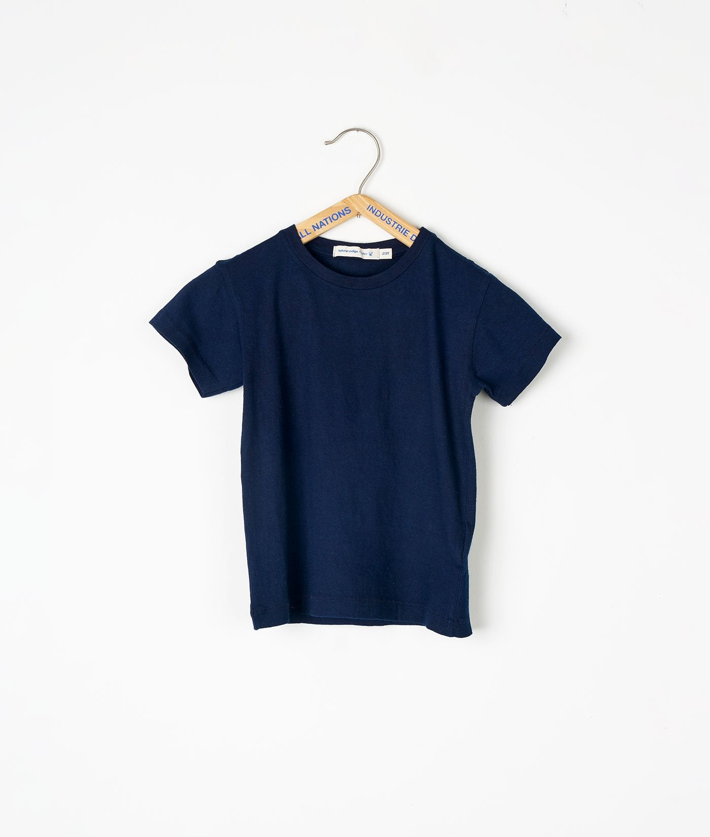 Industry of All Nations Kids Organic Cotton T-Shirt Indigo 12