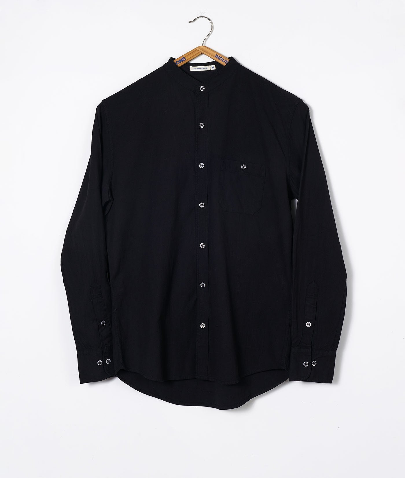 Industry of All Nations Mao Collar Shirt Iron 8