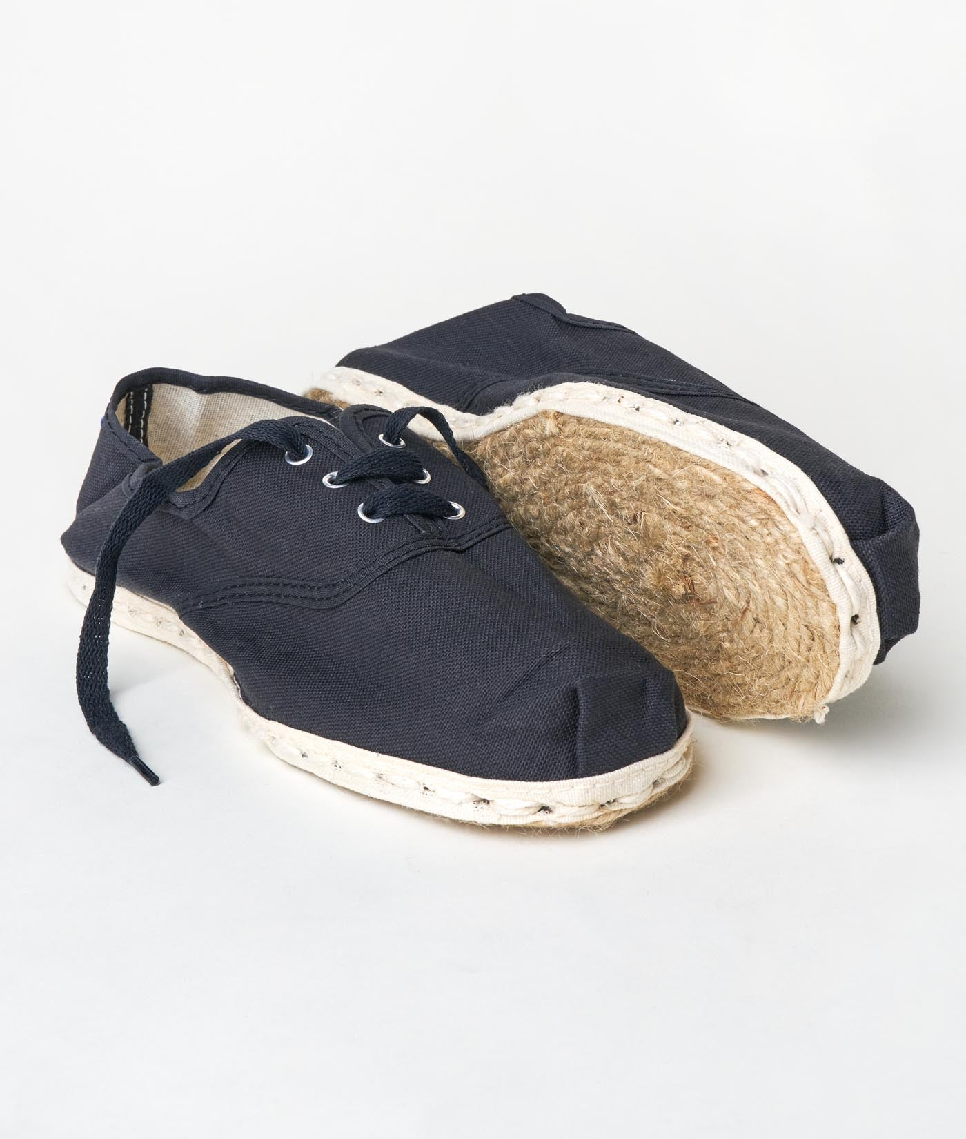 Industry of All Nations Sustainable Sneaker Espadrilles Black