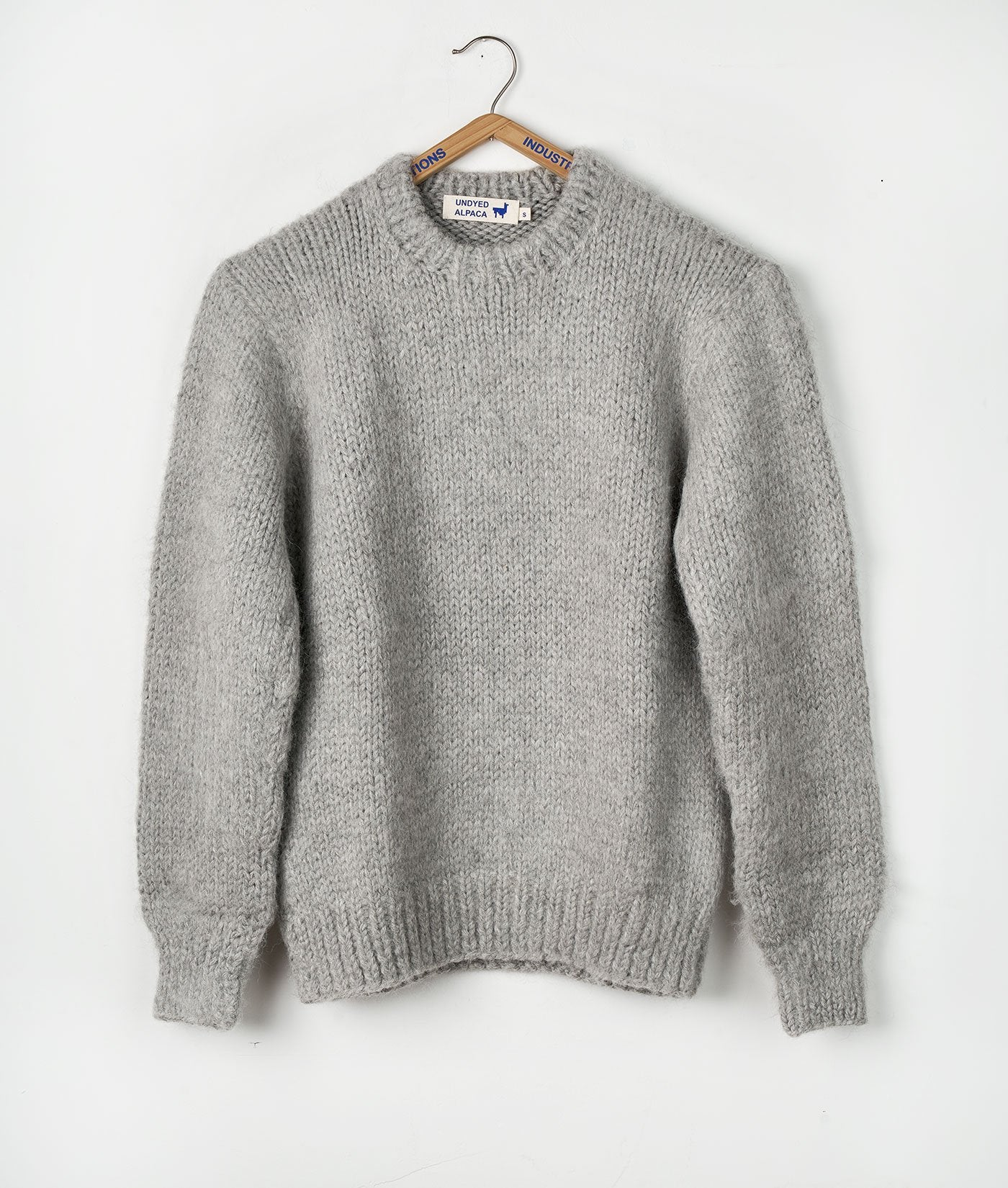 Industry of All Nations Topo Crewneck Knit Sweater