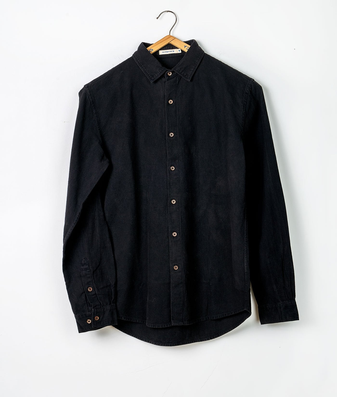 Industry of All Nations Classic Button Down Slub Shirt Iron 8