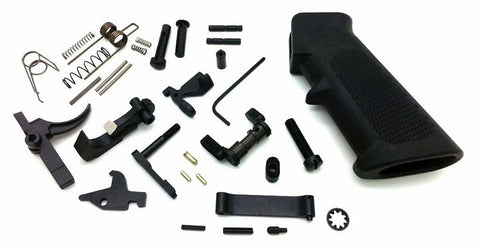Defense Package AR-15 Lower Parts Kit inc. CNC Ambi Safety .223/5.56