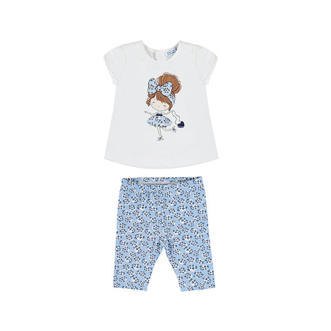 Mayoral Baby Girl's Two Piece Legging Set
