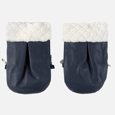 Mayoral Navy Blue Pram Handwarmer Gloves