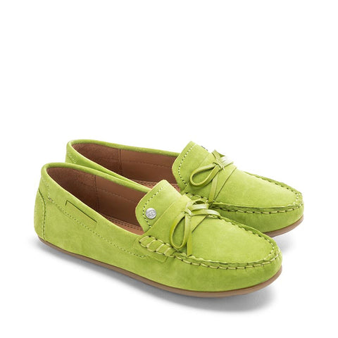 Mayoral Green Moccasins