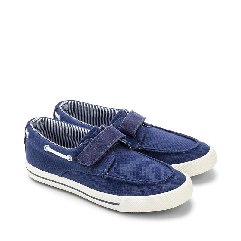 cdf68b53f375 Mayoral Navy Fabric Boat Shoes – Marabellas Boutique