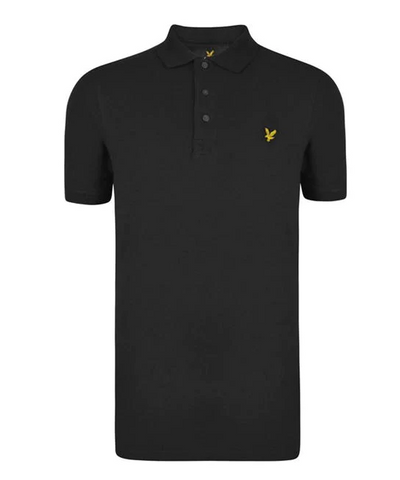 Lyle and Scott Black Polo Top