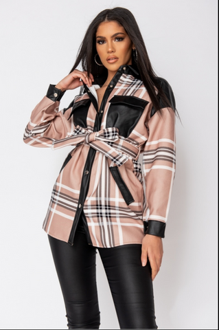 ZANELLES Black and Tan Jacket