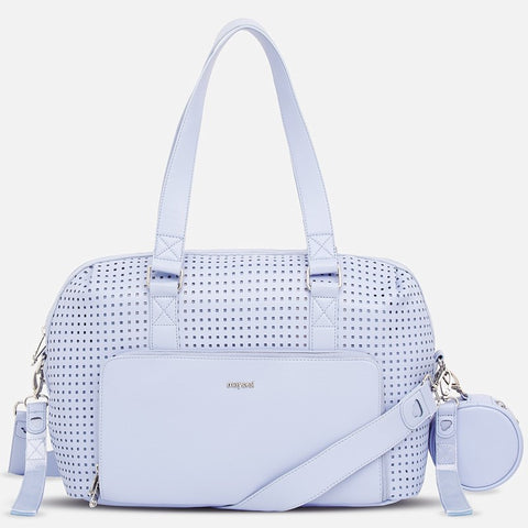 Mayoral Sky Blue Changing Bag With Changing Mat