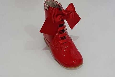 Bambi Red Bow Boot