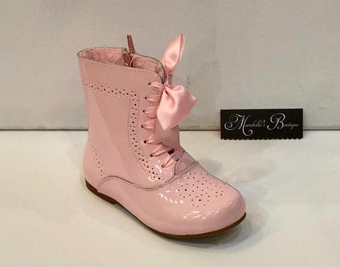 Couche Tot Pink Boots