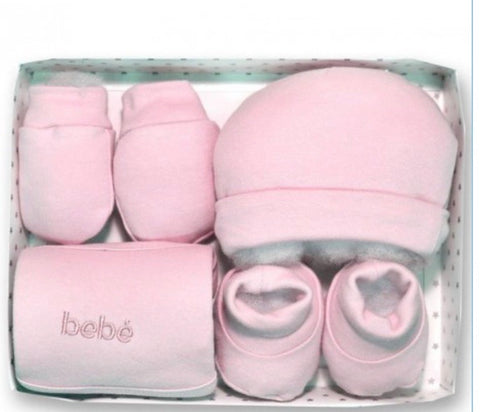 Baby Girl's Newborn Pink Gift Set