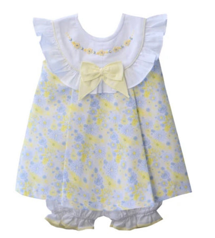 Pretty Originals Baby Girl's Lemon Bloomer Set