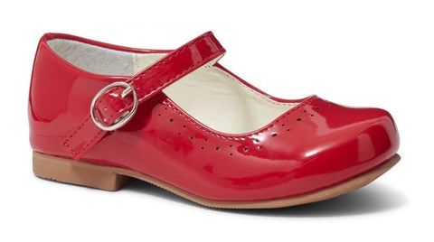 Girl's Red Mary Jane Shoes