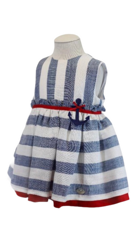 Basmarti Baby Girl's Striped Dress