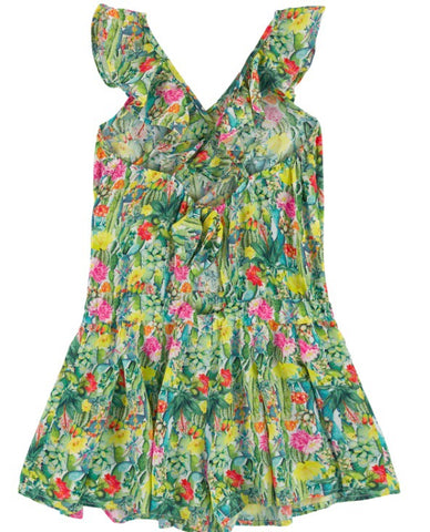 Mayoral Girls Cactus Playsuit