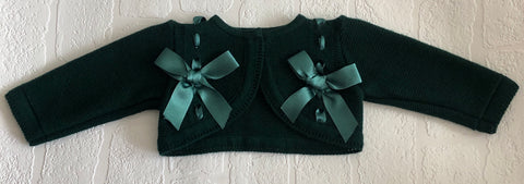 Pretty Original Baby Girl's Green Bolero