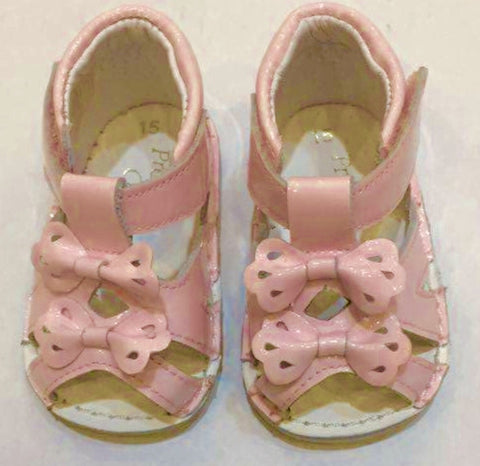 Pink Patent Sandals