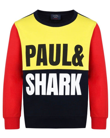 Paul & Shark Boy's Navy Sweatshirt